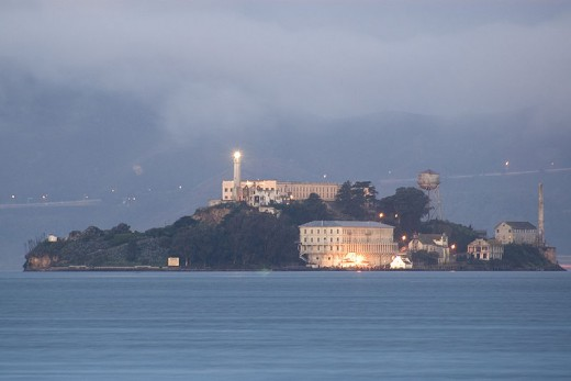 Alcatraz Prison Is Said To Be One Of America's Most Haunted Places.
