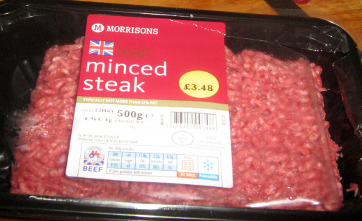 Mince Steak Ground Beef