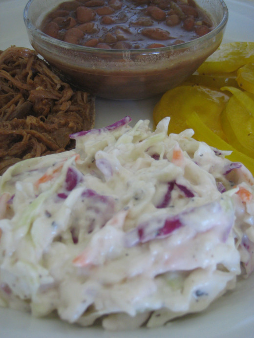 You can easily and quickly make your own cole slaw at home.