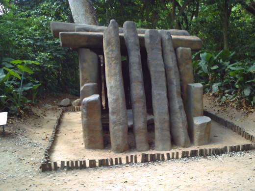 Olmec tomb, Parque-Museo de La Venta