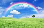 Rainbow holding my dreams.