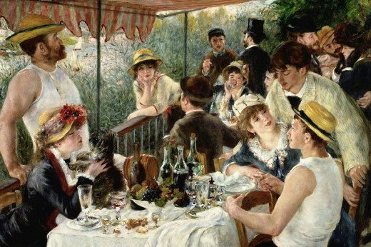 Renoir- Luncheon of the Boating Party