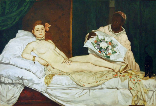 Manet- Olympia