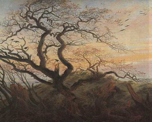 Friedrich- Tree With Crows