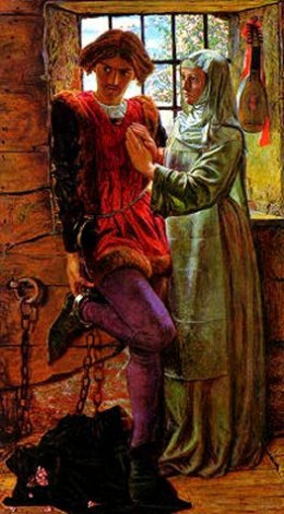 Holman-Hunt- Claudio and Isabella