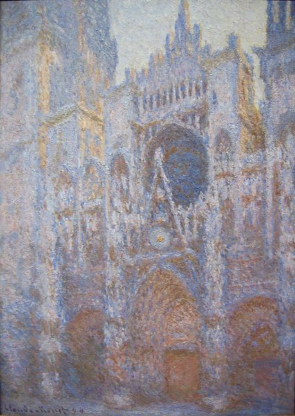 Monet: Rouen Cathedral West Facade