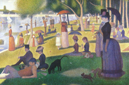 Seurat- Sunday Afternoon on the Island of La Grande Jatte