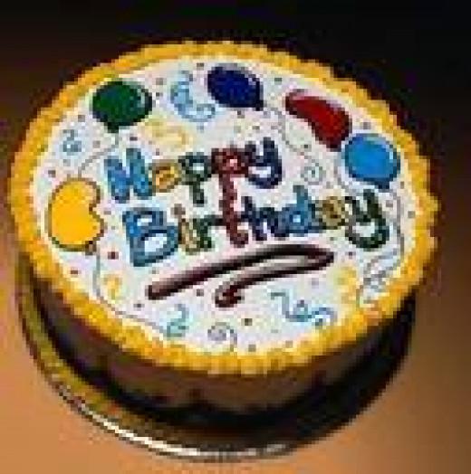 YUM  Chocolate Cake..NO CANDLES!