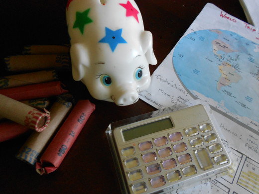 Creating savings for travel and other dreams