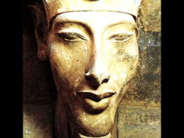 The Egyptian pharaoh, Akhenaten.