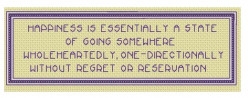 more cross stitch patterns with inspirational quotes