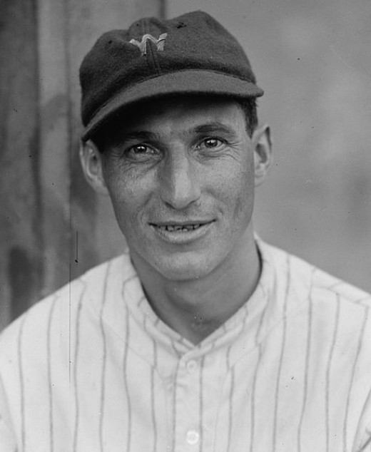 The Crown Prince, Al Schacht, in his playing days
