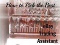 eBay Trading Assistant Program - find a trading assistant to sell for you