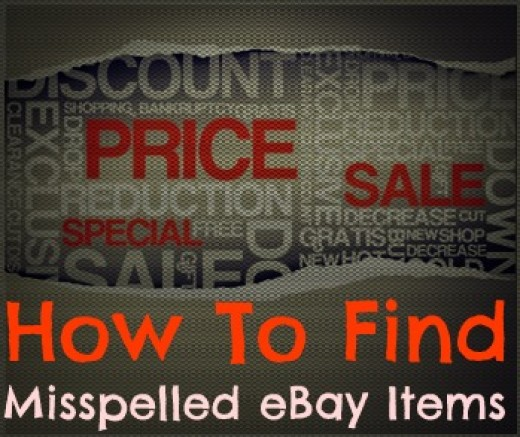 How to make money from misspelled items