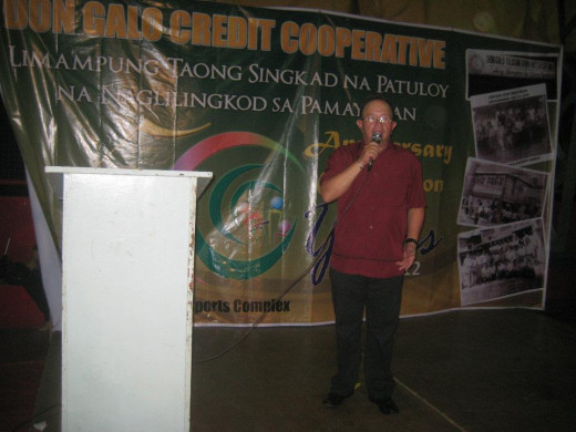 Ex-Congressman Eduardo Zalcieta of Parañaque City (popularly known as EDZA)
