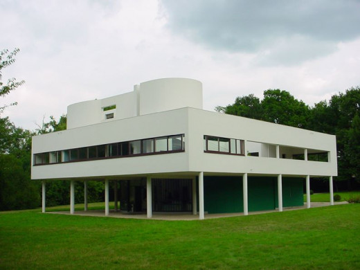 Villa Savoye was designed to the precise specifications of Le Corbusier's modular system of proportion