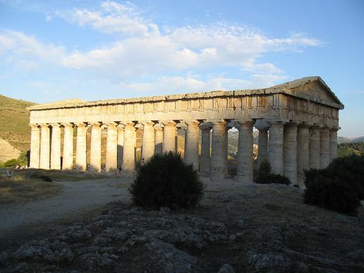Segesta temple, Sicily, Italy