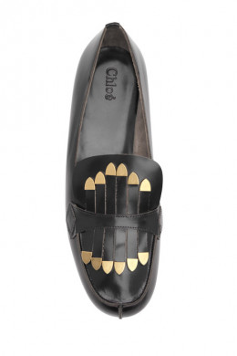 Chloe Checked Loafer