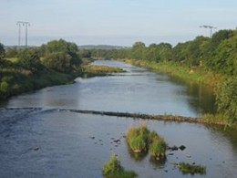 The River Feale which which has inspired many Kerry writers.
