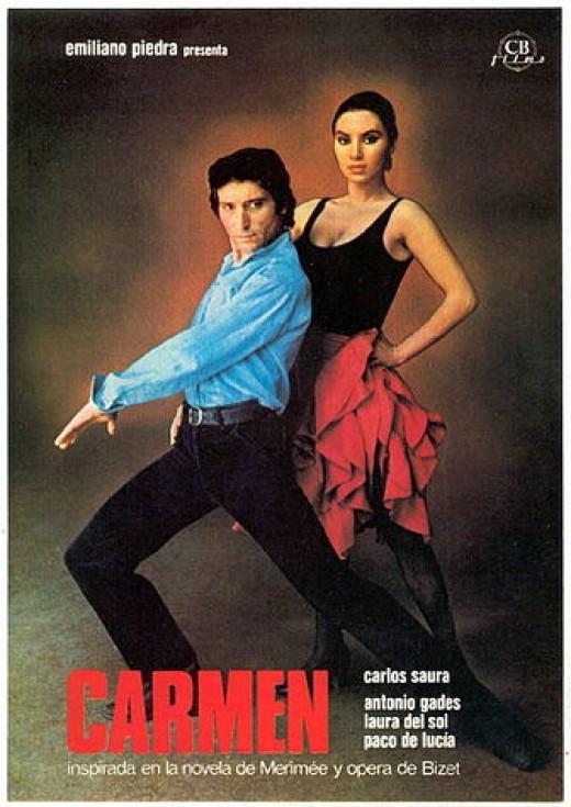 Spanish film poster