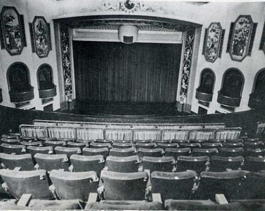His Majesty's Theatre presented stage shows, operas and film.