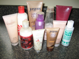 some of my moisturizers