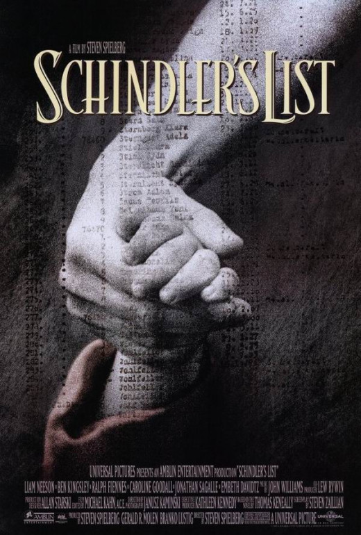 Schindler's List (1993) art by Tom Martin