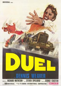 Duel (1971) Italian poster