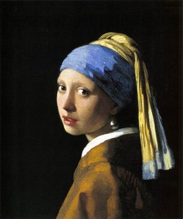 "Jan Vermeer's ""Girl with a Pearl Earring"" was painted in 1652. This work is in the public domain in the United States, and those countries with a copyright term of life of the author plus 100 years or less."