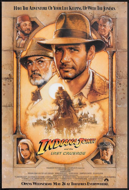 Indiana Jones and the Last Crusade (1989) art by Drew Struzan