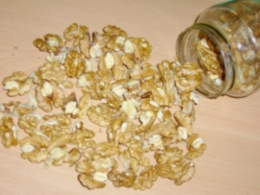 Walnuts: A tasty source of omega-3s and fiber.