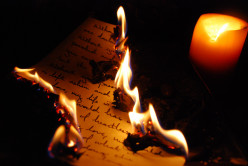 Heart Break Poetry: Burned Letter