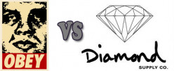 Diamond Supply Co. vs OBEY Clothing