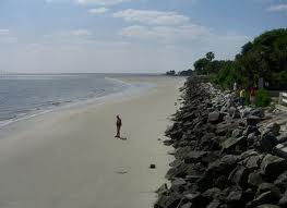 While some beaches are more populated, there are long stretches of beach that can be enjoyed alone.