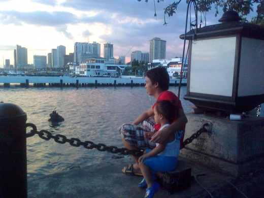 I was amazed at how this Father and Son enjoyed the scenery. What a great bonding moment!
