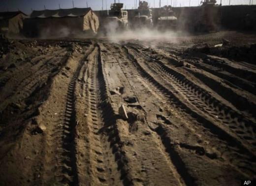 Afghanistan - U.S. Military tents