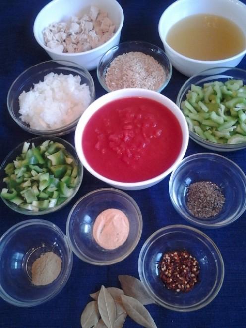 Chicken Jambalaya Ingredients