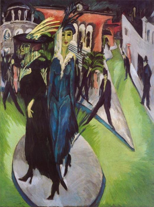 """""""Potsdamer Platz"""" by Ernst Ludwig Kirchner"""