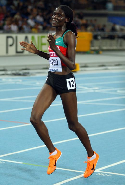 USA based Sally Kipyego