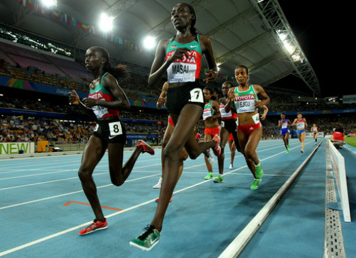 Linet Masai, the long strides girl
