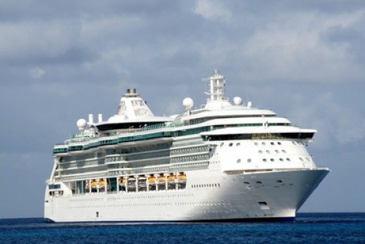 A Royal Caribbean Cruise Ship