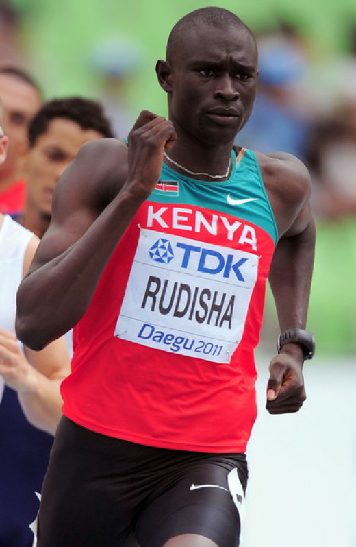 David Lekuta Rudisha, World 800m record holder