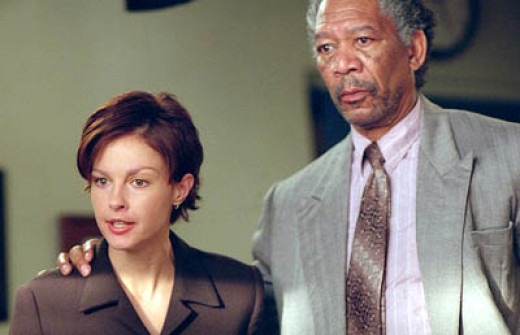 Opposite Morgan Freeman in High Crimes