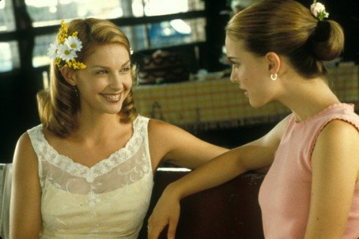 With Natalie Portman in Where the Heart Is