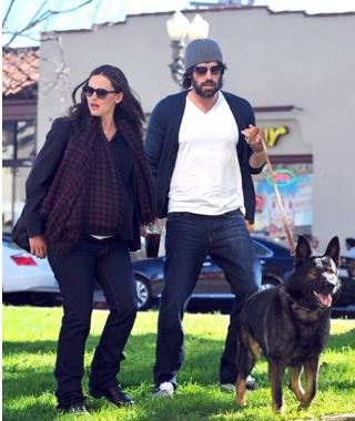 Ben & Jen with Martha Stewart