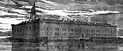 Fort Sumter prior to the Civil War.