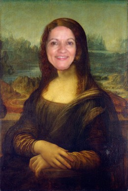 "Sunshine Mona Lisa (Linda ""Sunshine625"" Bilyeu)"