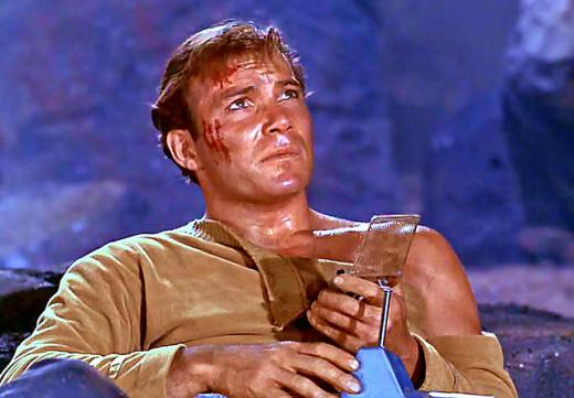 Captain Kirk, Star Treck (1966)