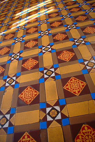 Encaustic tile (Creative Commons)