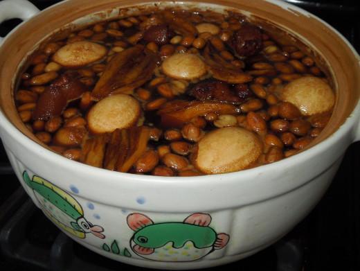 Ginger and Pork Leg Soup